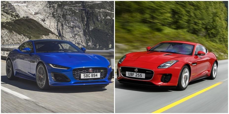 Comparación visual Jaguar F-TYPE 2020: Juzga tú mismo cuánto ha cambiado el deportivo