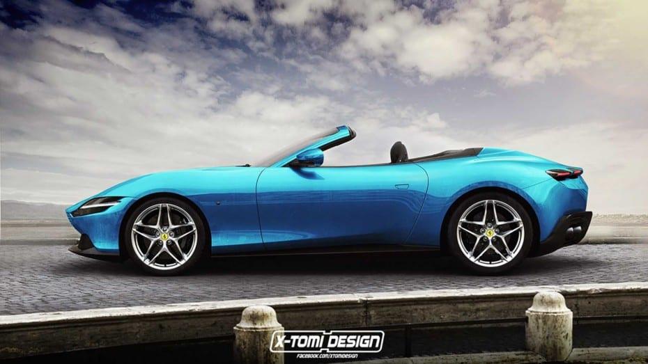 Si te ha enamorado el Ferrari Roma, te encantará verlo con estas carrocerías