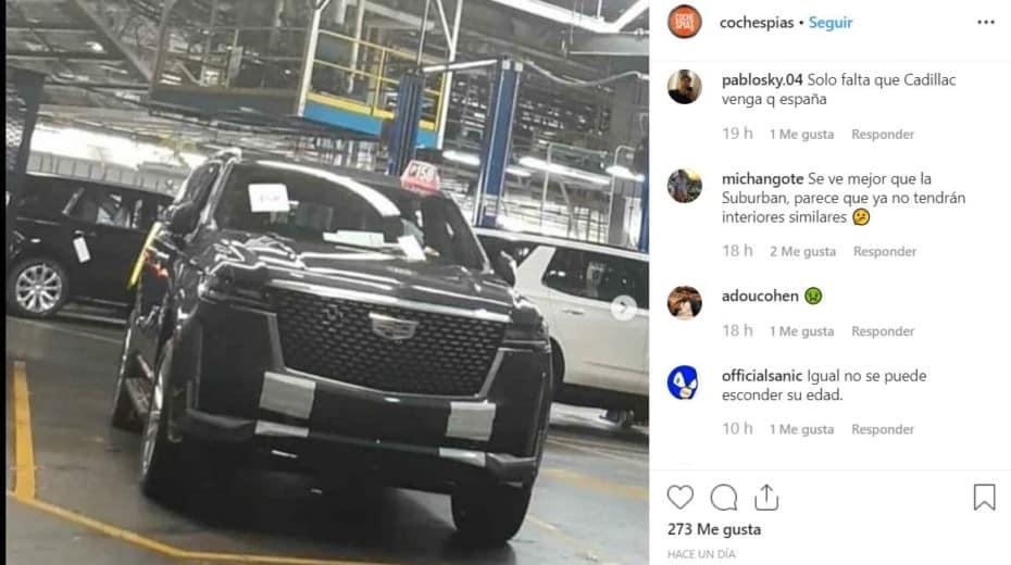 ¡Filtrado! Así es el Cadillac Escalade 2020: Mayor tamaño, más lujo, más tecnología