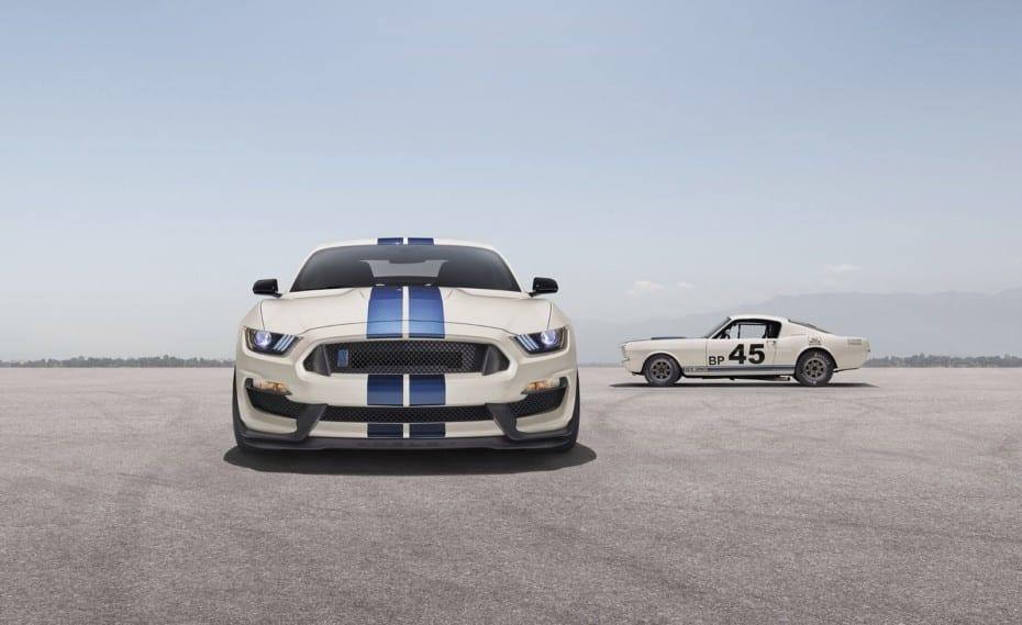 Así es la Heritage Edition de los Ford Mustang GT350 y GT350R