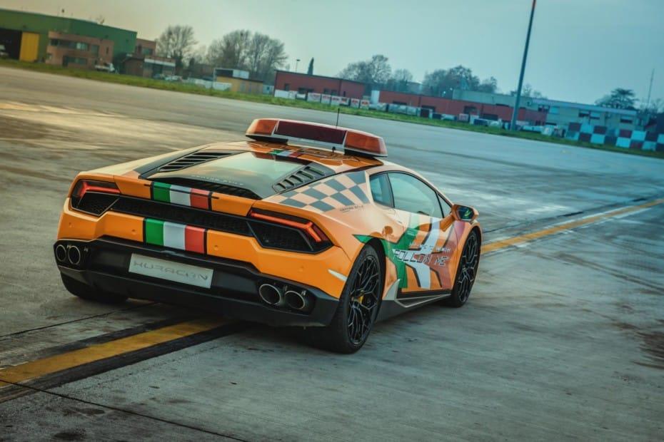 El aeropuerto de Bolonia se hace con su tercer Lamborghini: Ahora toca un Huracán LP 580-2