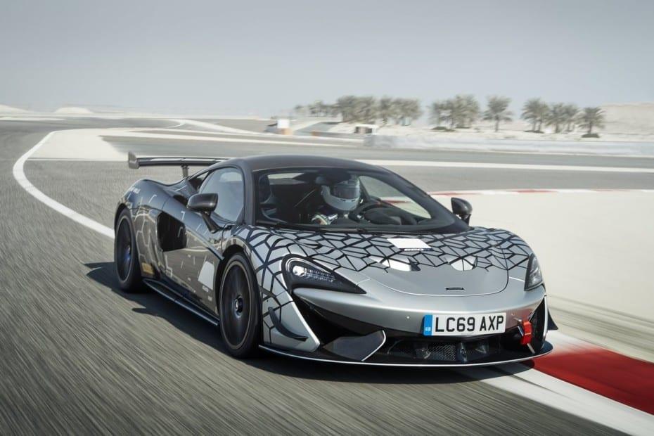 McLaren 620R: La variante de calle derivada directamente de un GT4 tiene 620 CV y 620 Nm de par…
