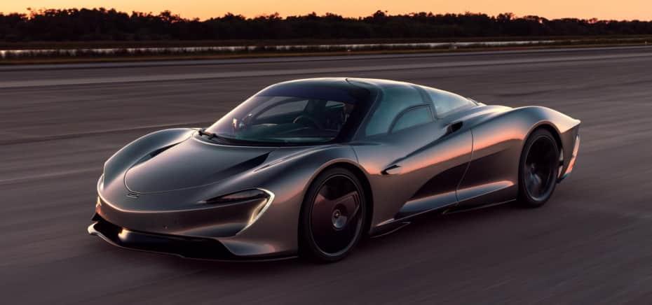 El McLaren Speedtail finaliza su fase de pruebas arrebatándole un récord al McLaren F1