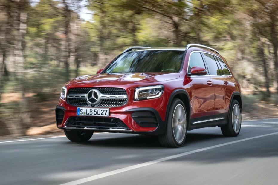 Nuevas imágenes del Mercedes-Benz GLB: Todas las versiones en detalle