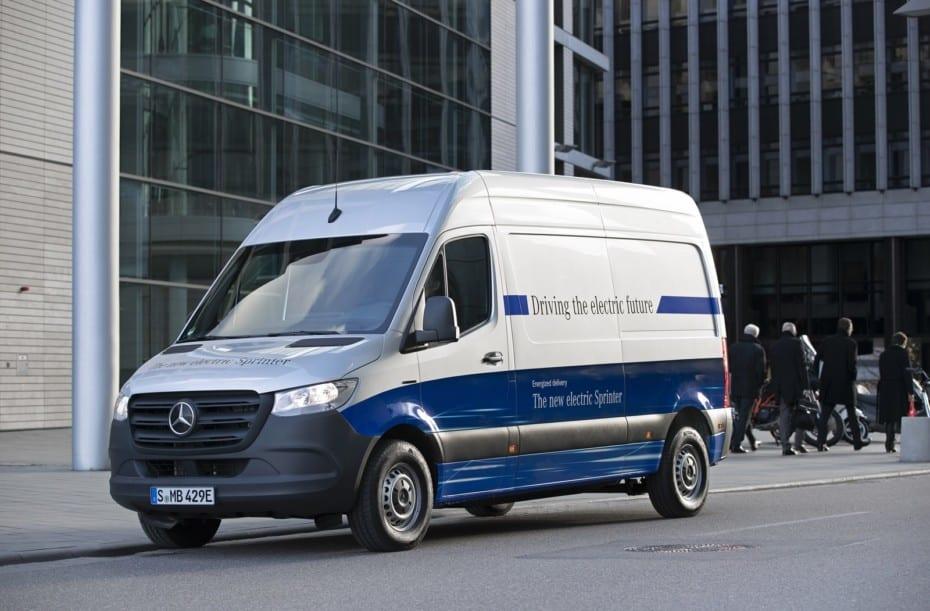 Llega el Mercedes-Benz eSprinter 2020: Hasta 168 kilómetros de autonomía