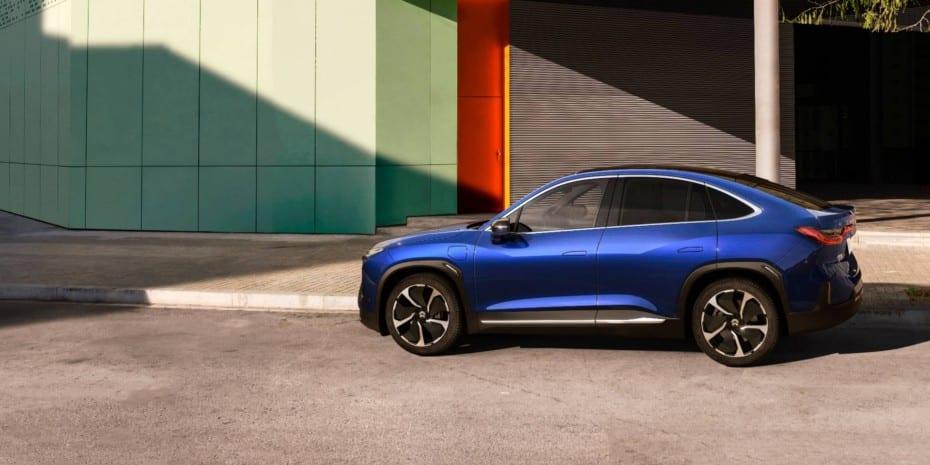 Nio EC6 2020: Un SUV Coupé con 544 CV y hasta 615 km de autonomía eléctrica