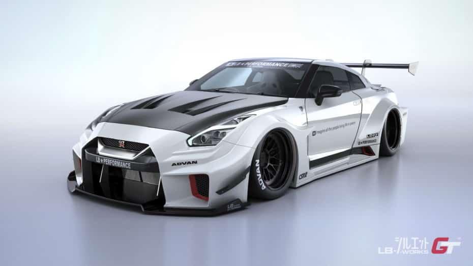 Liberty Walk vuelve a la carga con el Nissan GT-R: El paquete más completo supera los 65.000 euros