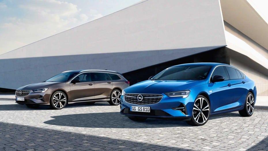 El Opel Insignia se renueva de cara al próximo año: Sutil soplo de aire fresco