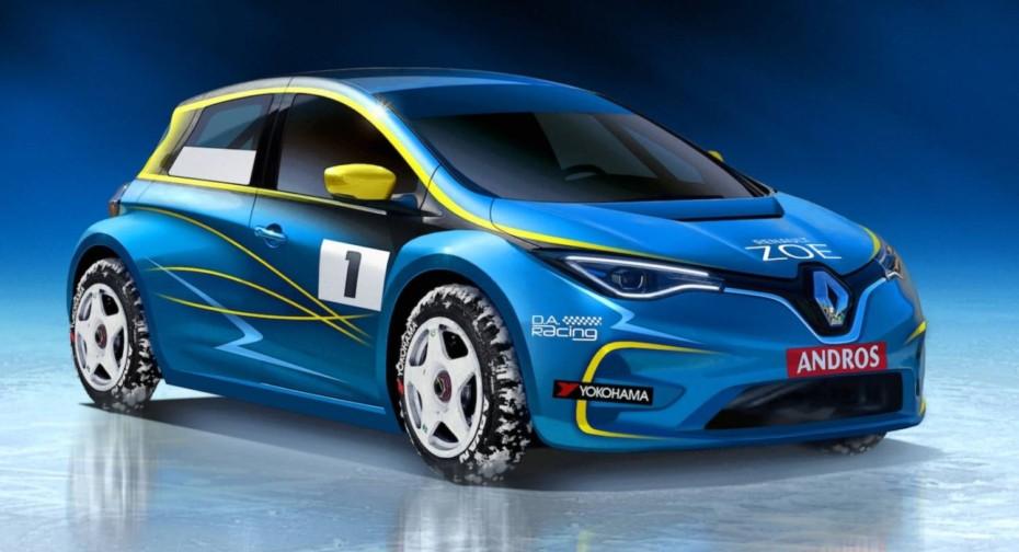 Renault ZOE Electric Andros Trophy: ¿Una insinuación del futuro ZOE R.S.?