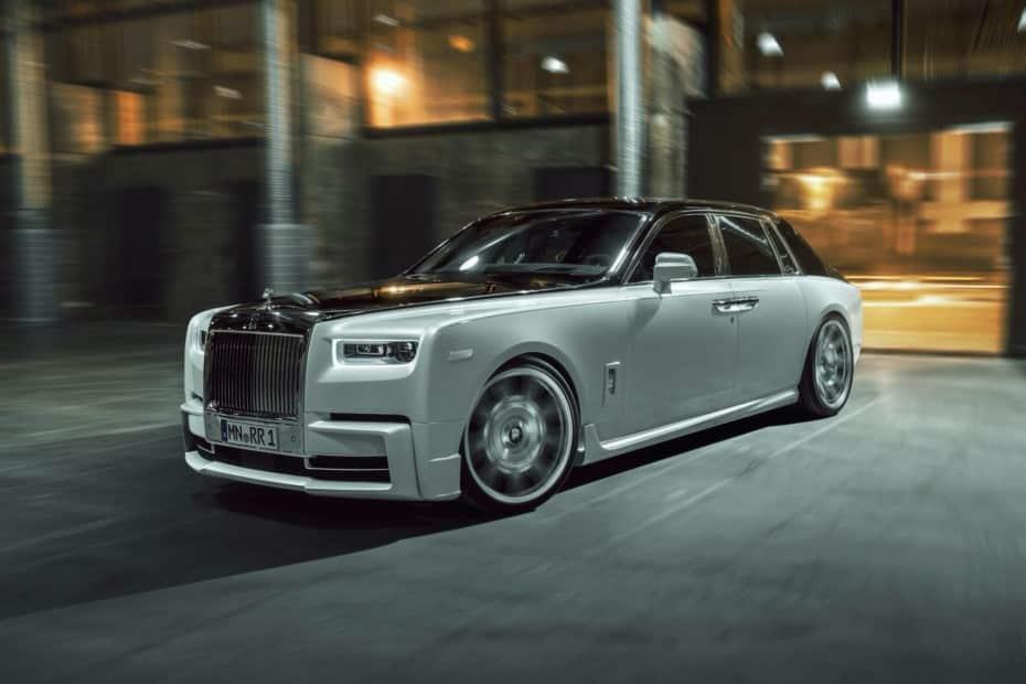 Hasta el 685 CV y 1.010 Nm de par para el Rolls-Royce Phantom: ¿Aberración o genialidad?