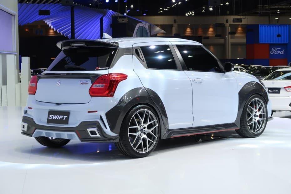 ¿Qué te parece el Suzuki Swift Sport Extreme Concept?: Buena pinta…