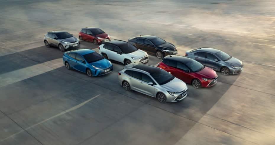 ¿Sabías que el 50% de las pegatinas ECO que hay en España pertenecen a un Toyota?