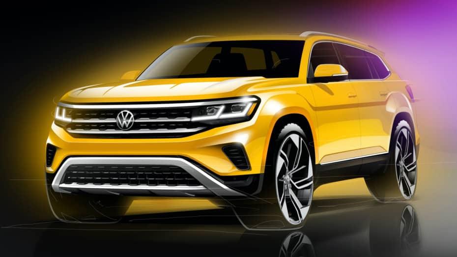 El Volkswagen Atlas recibirá un lavado de cara