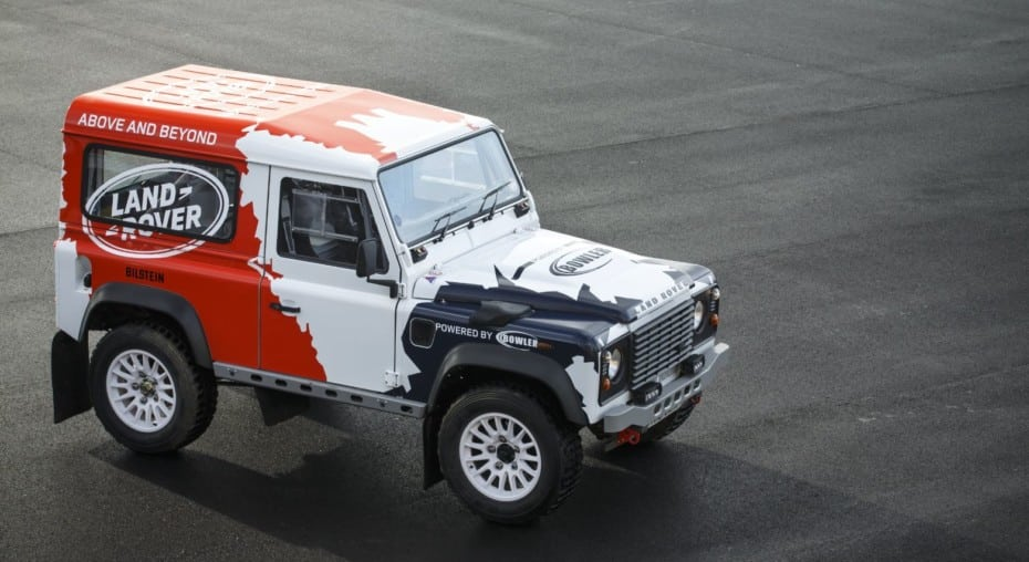 Land Rover compra Bowler, el especialista en competición todoterreno