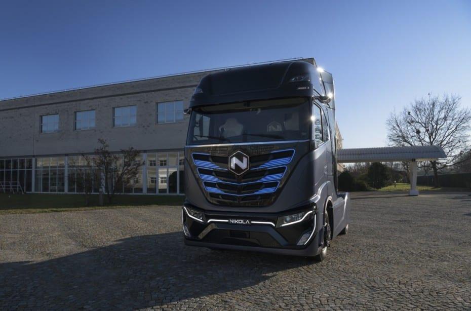 Nuevo Nikola TRE, un camión eléctrico muy llamativo