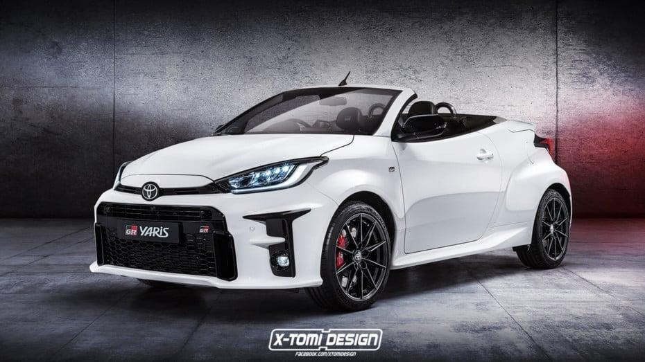 ¿Podría ser el Toyota GR Yaris 2020 aún mejor? Esta versión cabrio demuestra que sí…