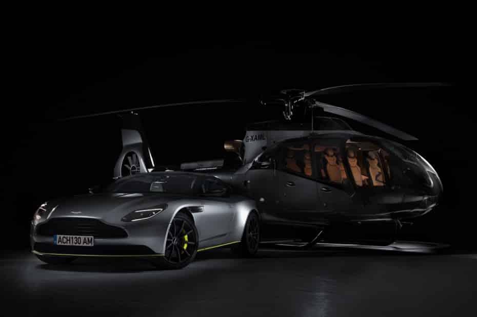 ACH130 Aston Martin Edition: El helicóptero que llevaría 007
