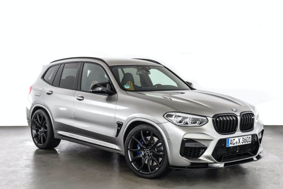 Hasta 600 jugosos caballos para el BMW X3 M Competition 2020