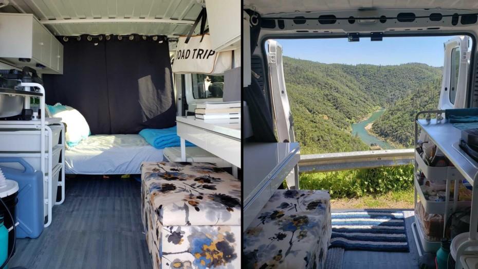 Puedes camperizar una furgoneta por menos de 1.000 euros y esta es la forma de hacerlo