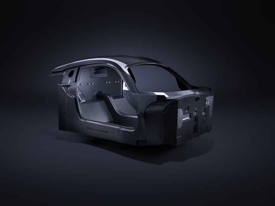 Hennessey nos muestra los detalles del chasis de carbono de su Venom F5