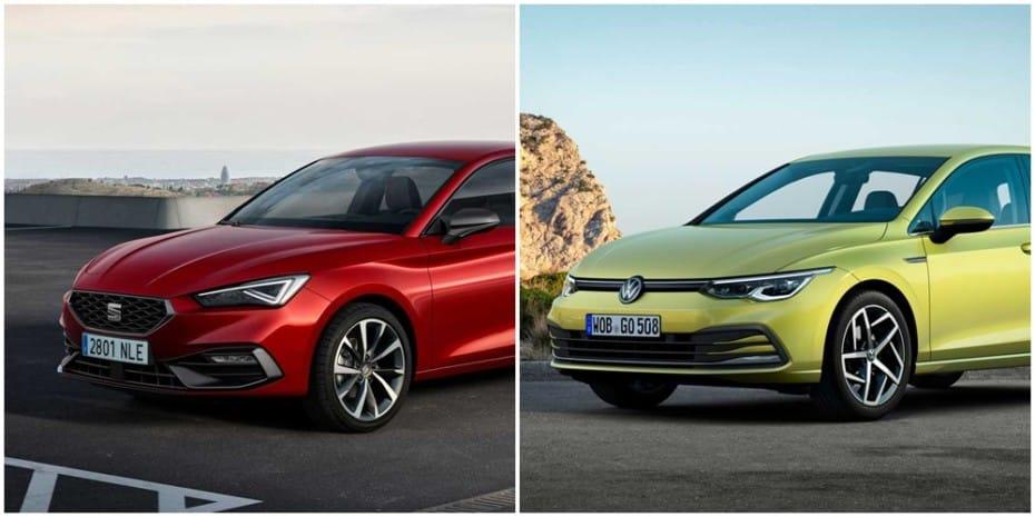 Comparación visual SEAT León vs. Volkswagen Golf 2020: ¿Tú con cuál te quedas?