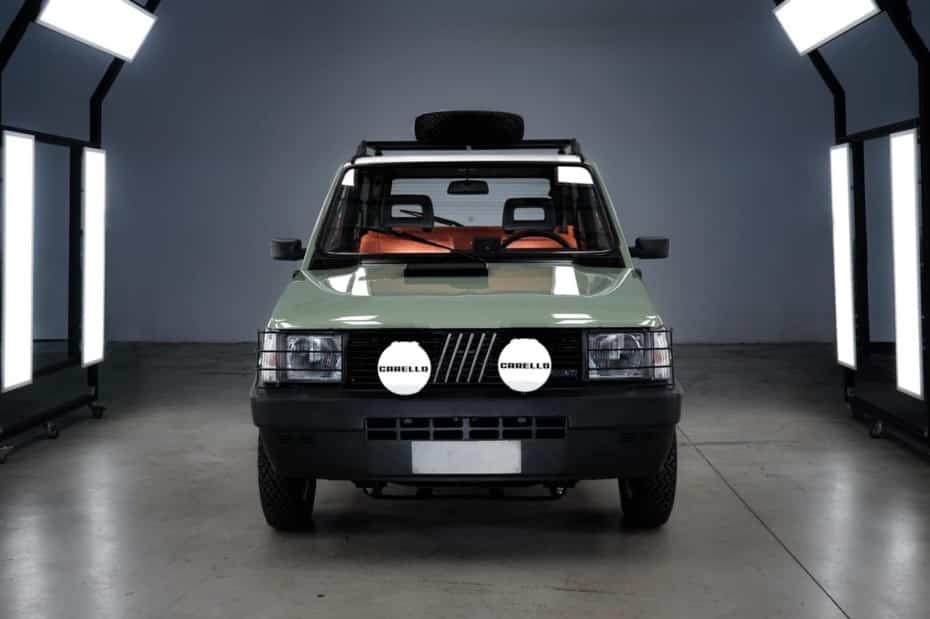 Este Fiat Panda 4×4 Icon-e tiene mucha chispa: Atento la electrificación y a la preparación…