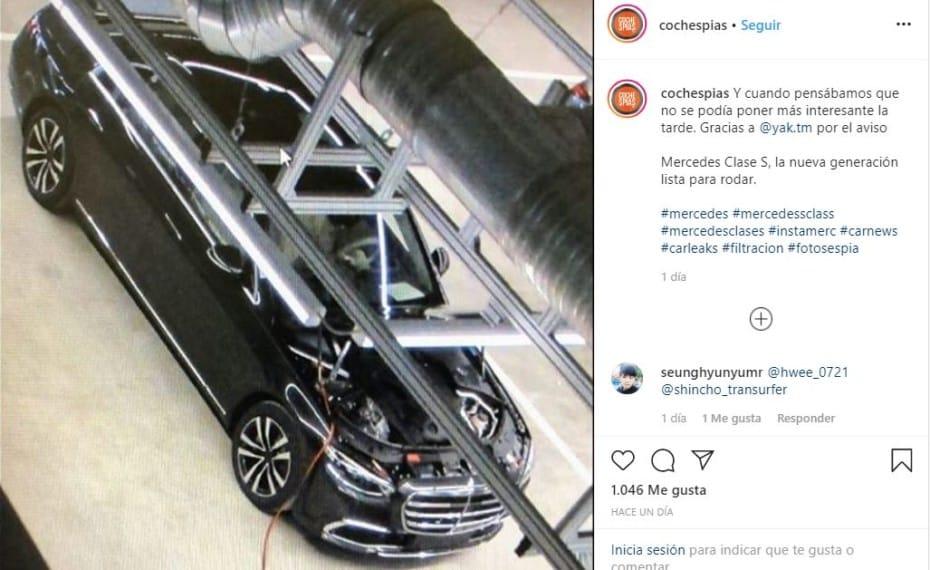 ¡Filtrado! Así luce el renovado Mercedes-Benz Clase S 2020: Llegará cargado de tecnología