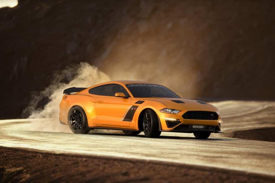 Con el Ford Mustang Stage 3 de Roush Performance ni querrás ni necesitarás un Shelby GT500