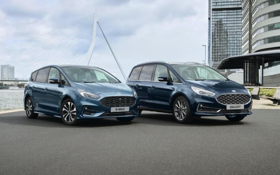 Los Ford S-Max y Galaxy recibirán mecánicas híbridas