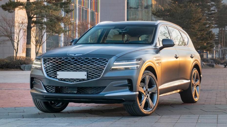 Nuevas imágenes del Genesis GV80 2020: Un SUV de lujo que echarás de menos en el Viejo Continente