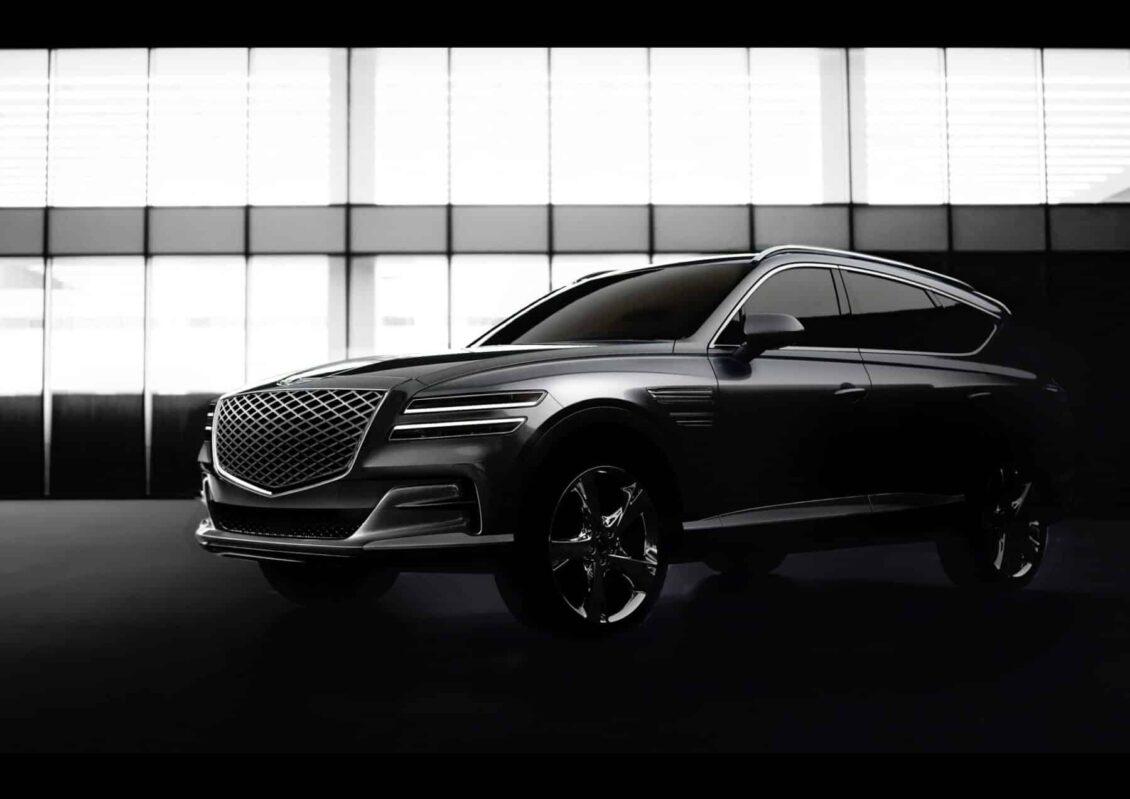 Primeras imágenes y detalles del Génesis GV80 2020: El lujoso SUV que no verás por Europa