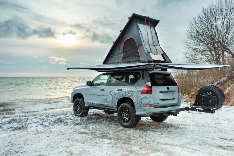 Lexus GX Overland Concept: El SUV camper que no te importaría ver hecho realidad