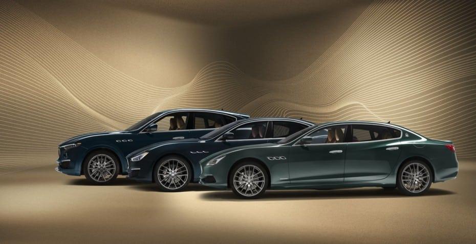 Los Maserati Quattroporte, Levante y Ghibli reciben la serie especial limitada Royale
