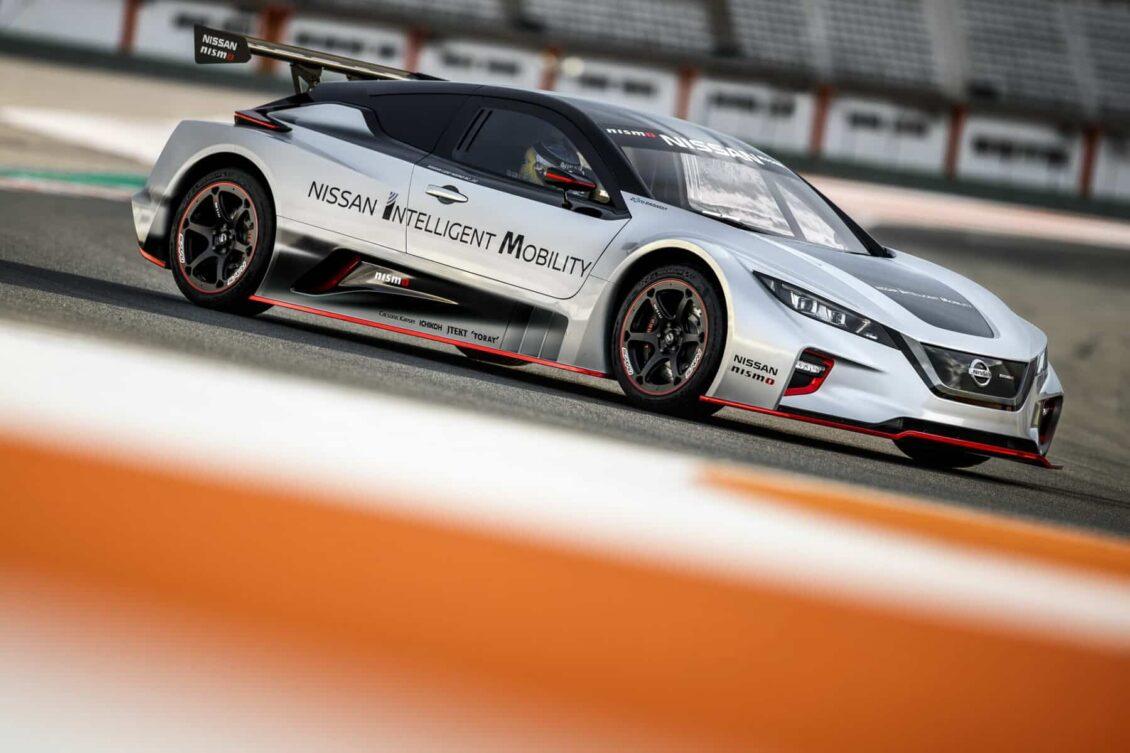 Nissan Leaf Nismo RC 2020: La tecnología del futuro ve la luz en Valencia