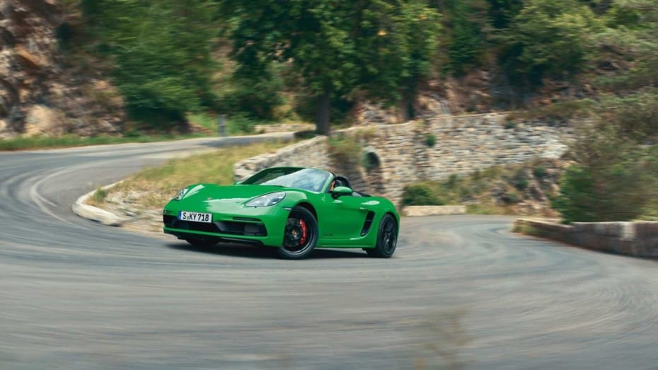Porsche 718 Cayman GTS 4.0 y 718 Boxster GTS 4.0: 400 CV bien domados