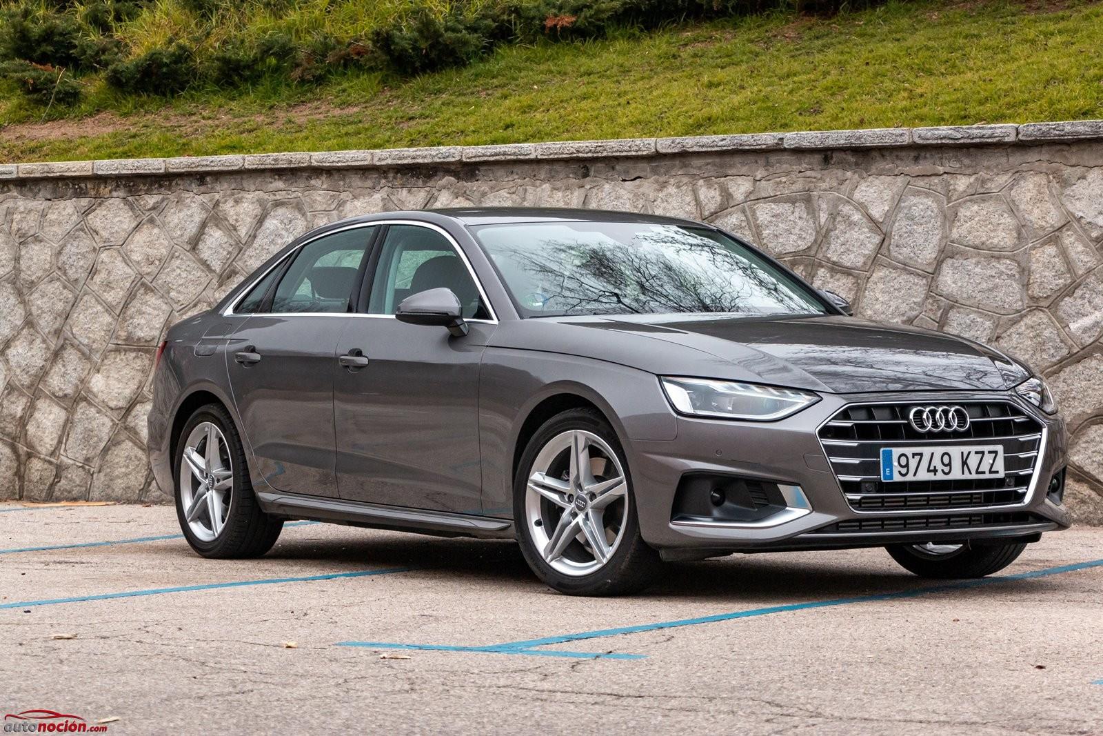 Opinión y prueba Audi A4 gasolina 150 CV automático 2020