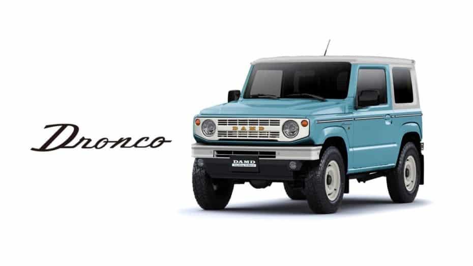 Este «mini» Ford Bronco sobre la base del Suzuki Jimny te va a enamorar…
