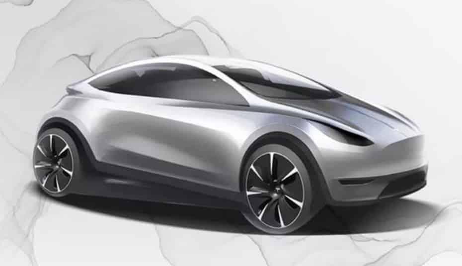 Tesla nos muestra el primer boceto de su hatchback: ¿Un model 3 sin «culo»?