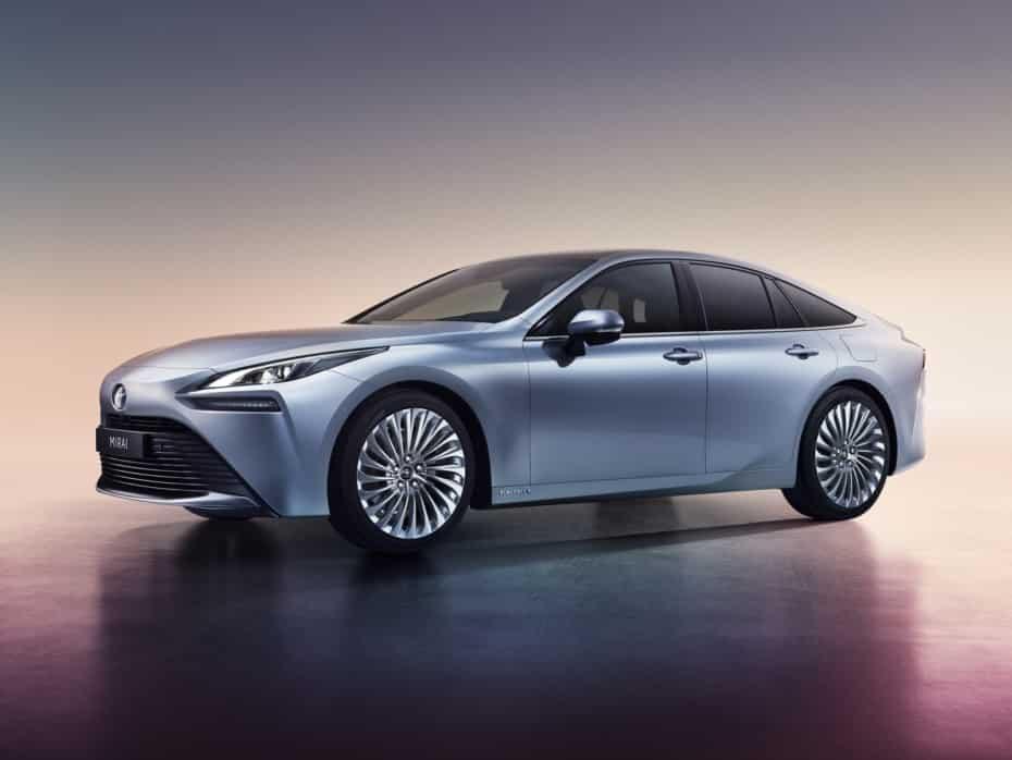 Así será el nuevo Toyota Mirai 2020 que veremos en Europa