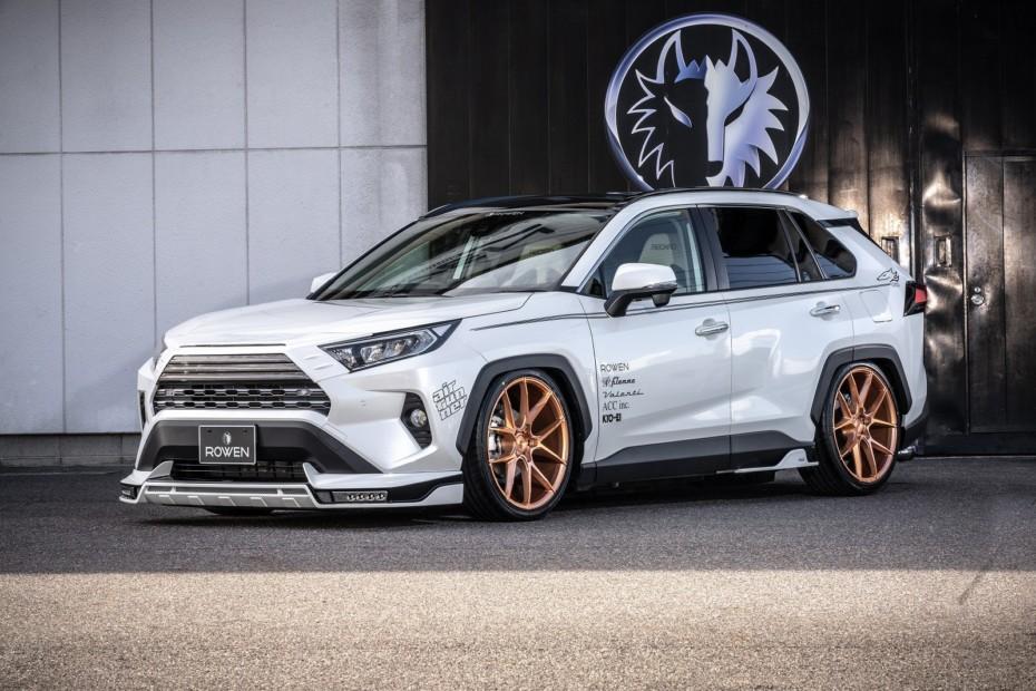 Rowen International nos propone un Toyota RAV4 al más puro estilo nipón