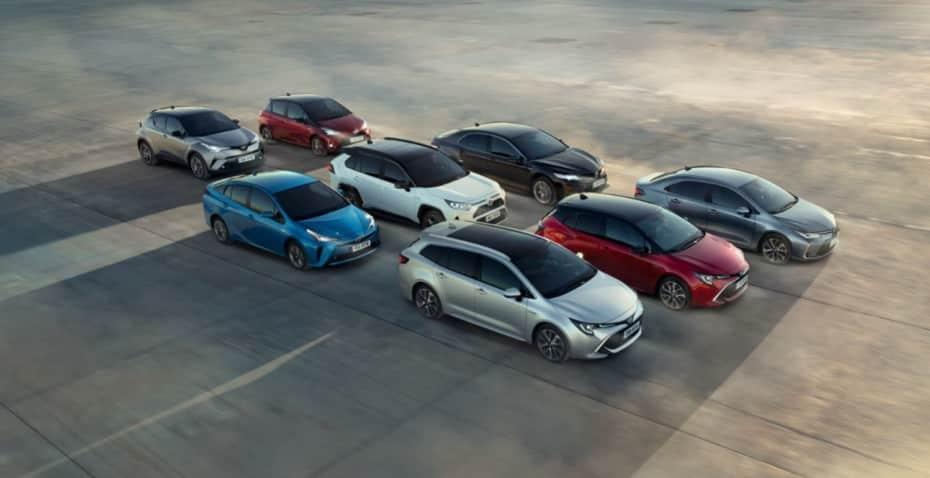 Dicen que los 69.769 híbridos que Toyota vendió en 2019 ahorrarán 50.000 toneladas de CO2 al año