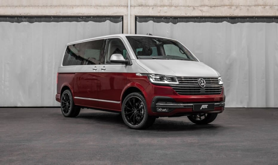 Más potencia y sutiles ajustes visuales para la nueva Volkswagen T6.1 2020 cortesía de ABT