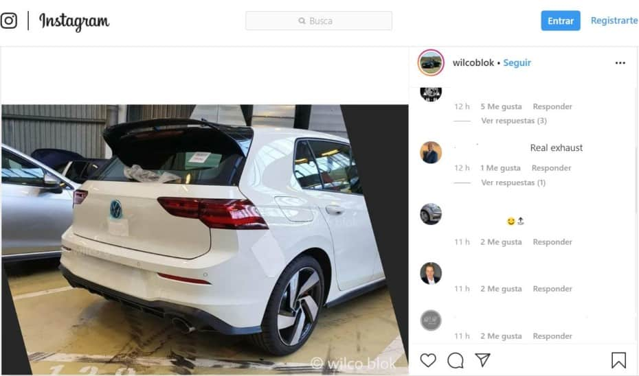 ¡Cazado!: Así luce el nuevo Volkswagen Golf GTI, ¿te gusta su aspecto y sus llantas?