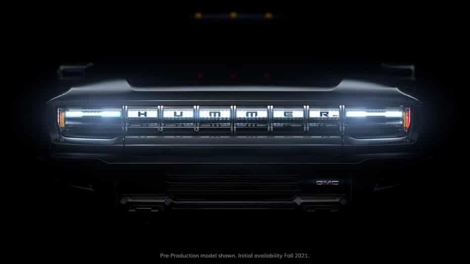 Primeros detalles oficiales del Hummer eléctrico: 1000 CV y un 0 – 100 km/h en 3 segundos