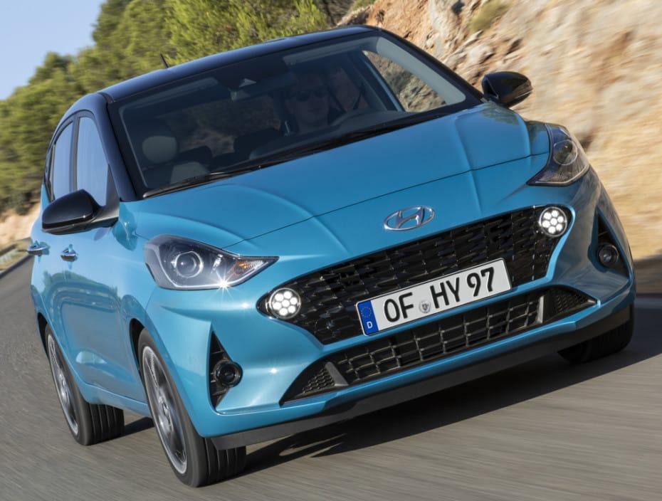 Detalle de equipamiento del nuevo Hyundai i10 para España