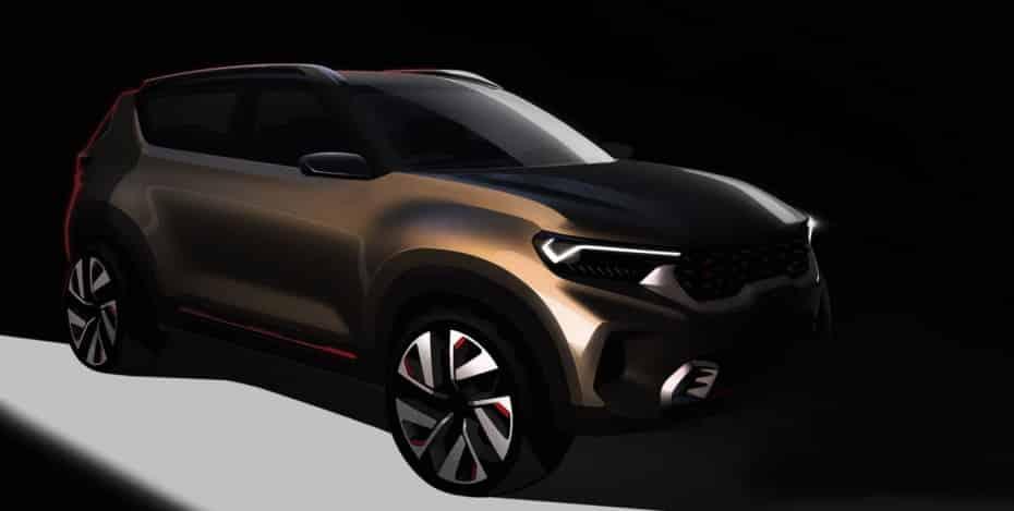 El nuevo SUV conceptual que KIA presentará en la India tiene buena pinta