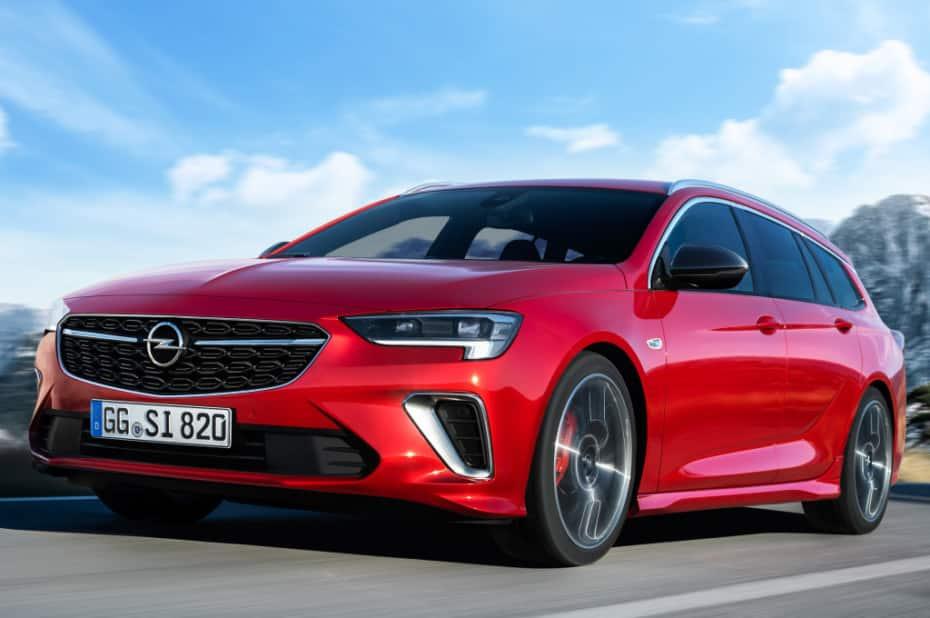 Todos los detalles del renovado Opel Insignia, versión GSI incluida