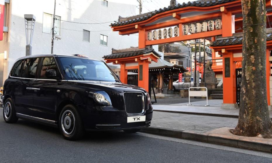 El icónico taxi de Londres se lanza a la conquista de Japón, un mercado con 240.000 taxis