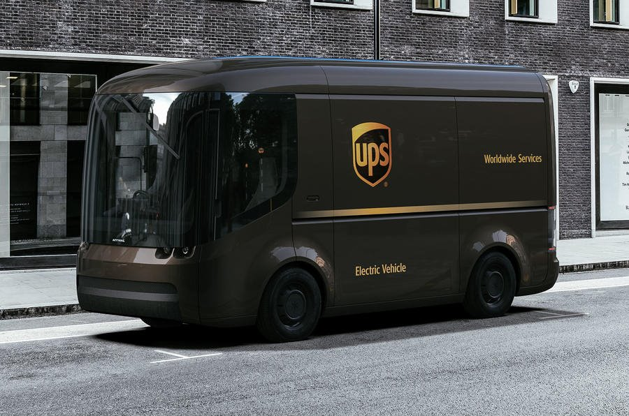 Así será la nueva furgoneta eléctrica de UPS: Habrá 10.000 en toda Europa