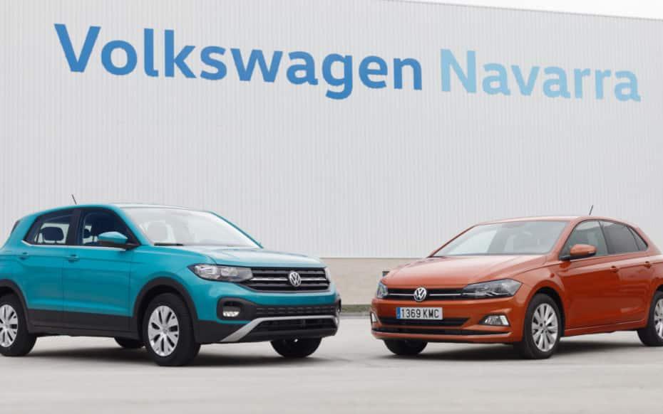 La producción de Volkswagen en Navarra aumentó considerablemente